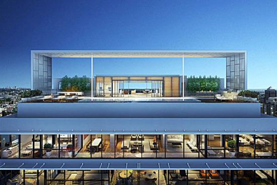 Luxury apartments exterior - Penthouse Arhitektura