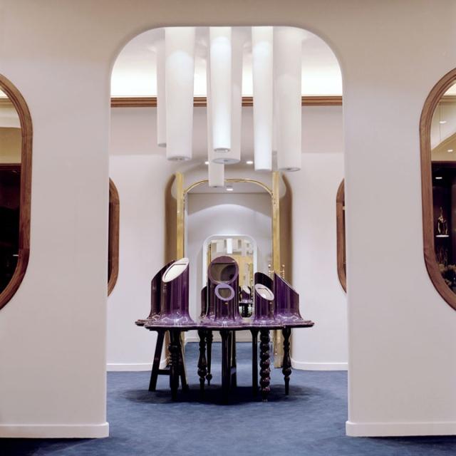 Inspiring retail design of jewelry stores arhitektura for Jewellery interior designs