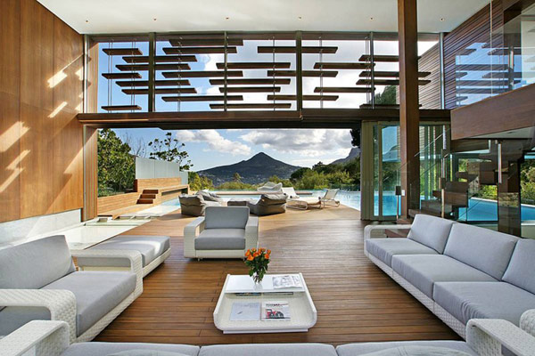 Modern home in south africa spa house arhitektura for Beach house design cape town