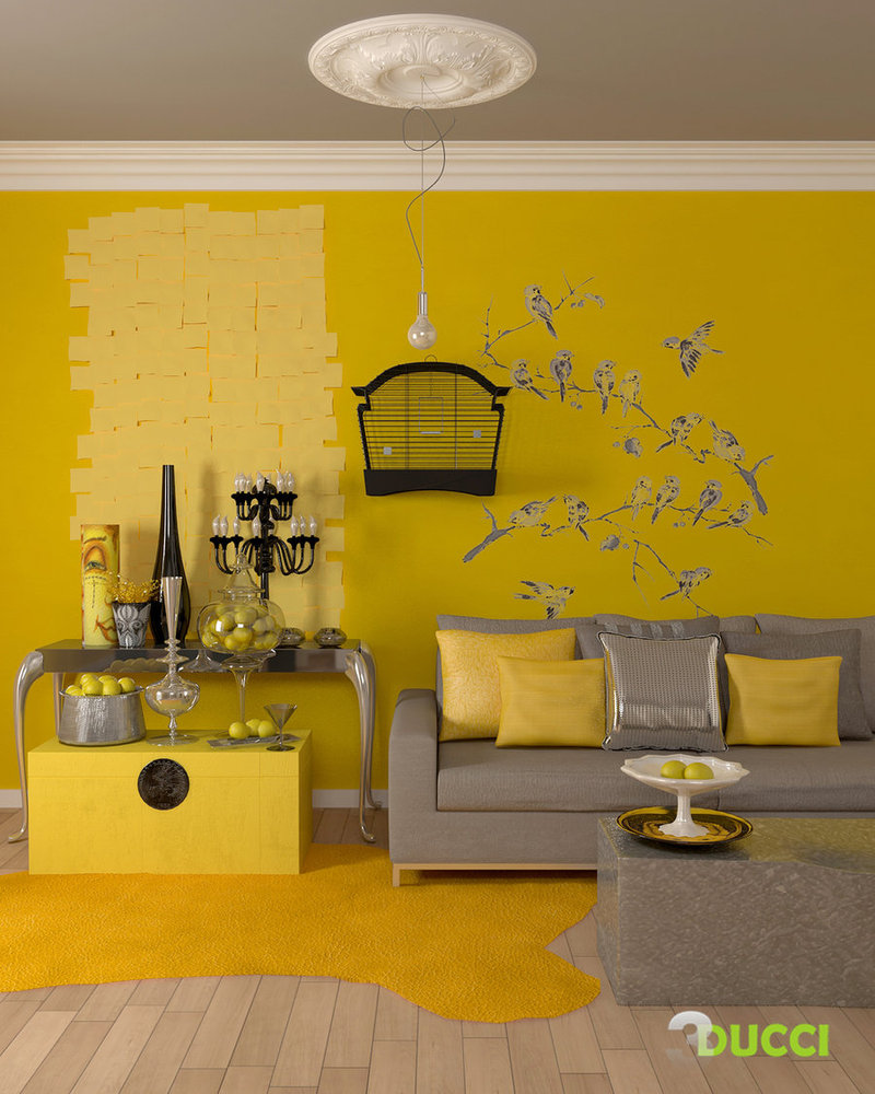 Fantastic Wallpaper Home Screen Yellow - 12-yellow-living-room  Collection_651871.jpg