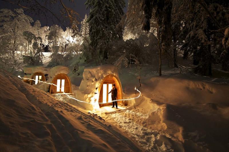 Travel Thursdays Eco Pod Hotel In Switzerland Arhitektura