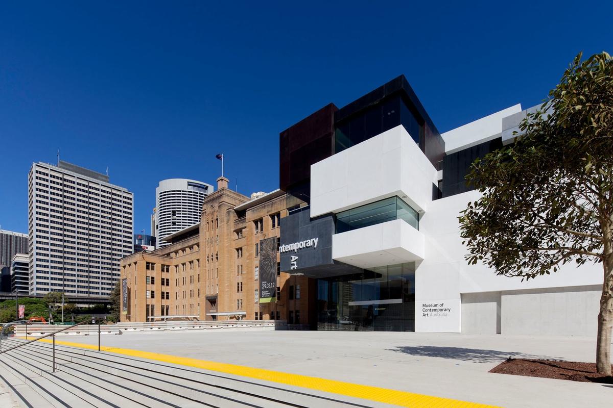 Museum of Contemporary Arts  Sydney  Arhitektura+