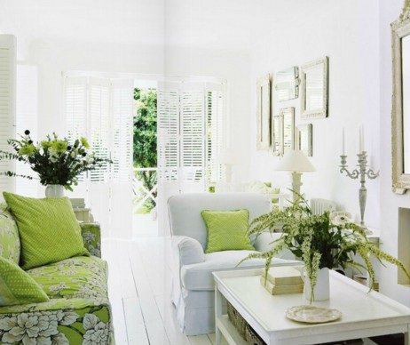 Interiors citrus diet for your house arhitektura for Lime green home decorations