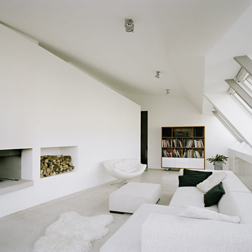 Architecture loft renovation lakonis architekten - Lakonis architekten ...