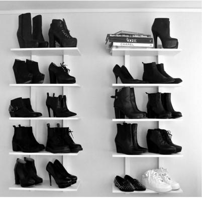 Come sistemare le scarpe in poco spazio: alcune idee ...