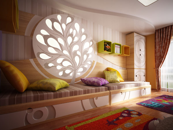Kids Corner Childrens Bedroom Small Space Arhitektura