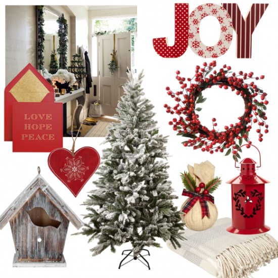 moodboard-creative-red and white christmas