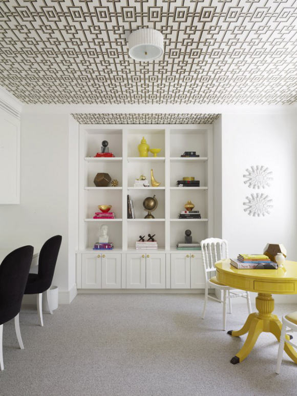 greg natale interiros #Sydney house #Ceiling #Pattern (1)