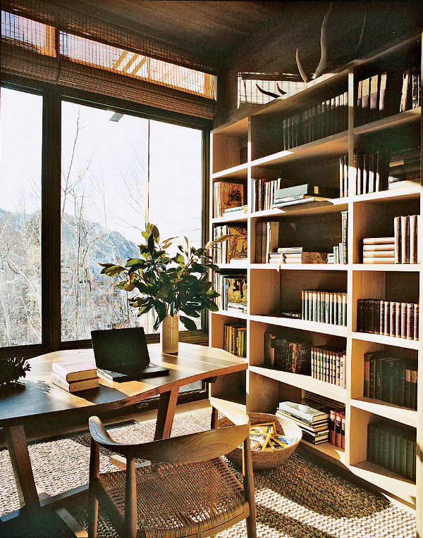 holiday home in Aspen by francois halard for vogue (1)
