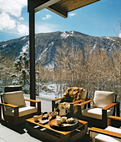 holiday home in Aspen by francois halard for vogue (4)