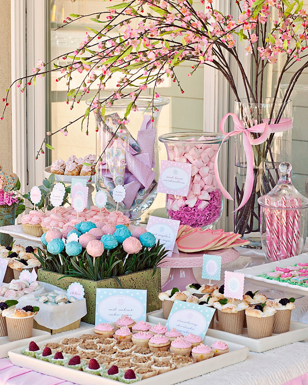 Garden Party Baby Shower Ideas