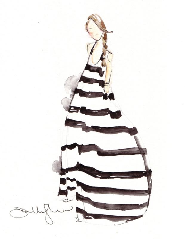 Dallas Shaw #art #fashion #illustrations #arhitektura+ (2)