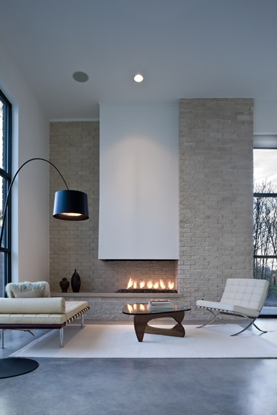 Currently Crushing: Beautiful fireplaces  Arhitektura+