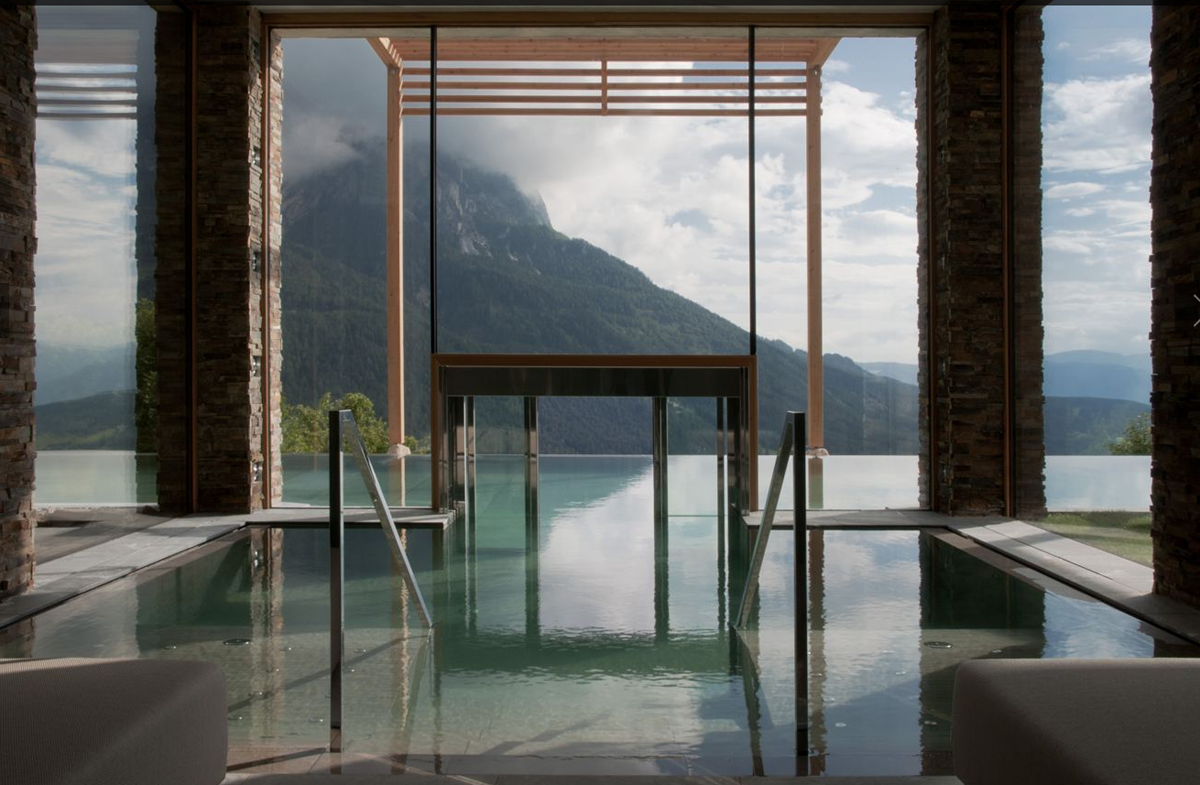Architecture mountain design hotels part ii arhitektura for Hotel design italie