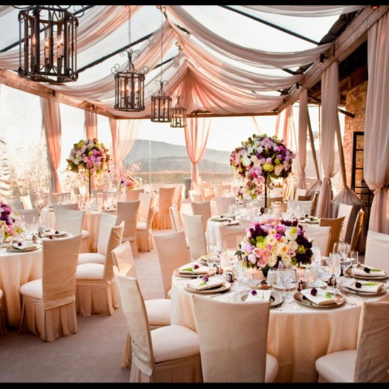 party table decor wedding  (1)