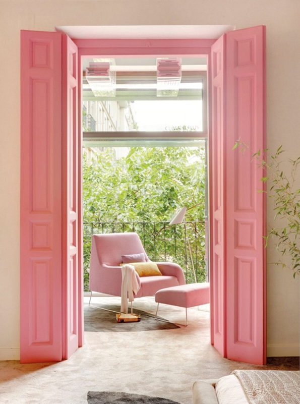 pink #interiors #inspiration #decor #arhitektura+ (2)