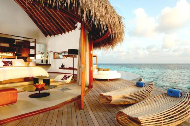 w hotel #maldives #travel #escape #luxury #hotel #arhitektura+ (2)