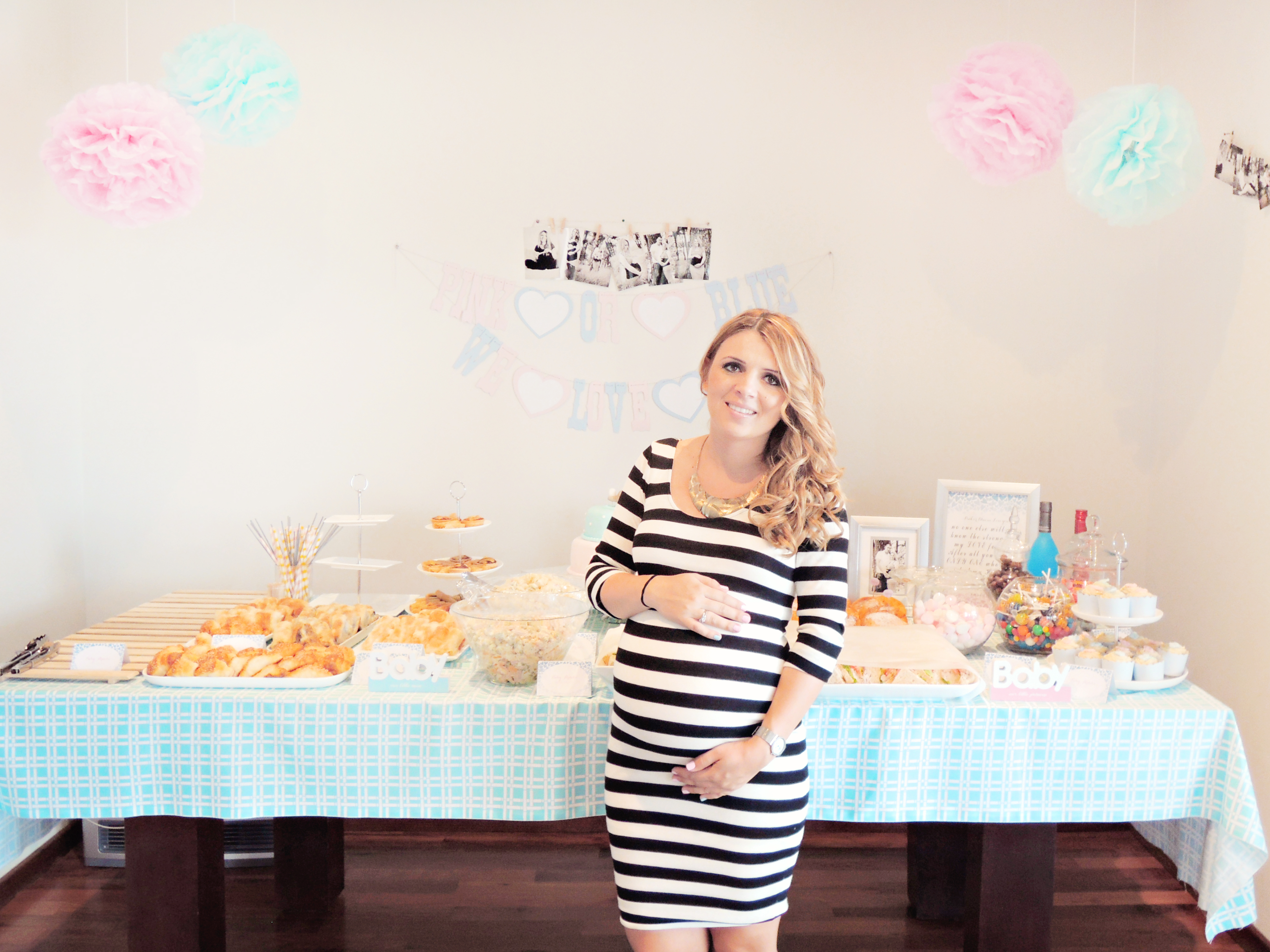 with you my baby shower photos which was two weekends ago baby shower