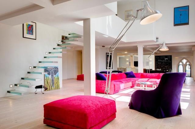 #church conversion #architecture #interiors #colour #arhitektura+ (1)