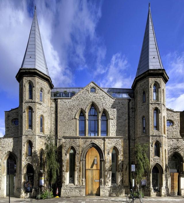 #church conversion #architecture #interiors #colour #arhitektura+ (6)