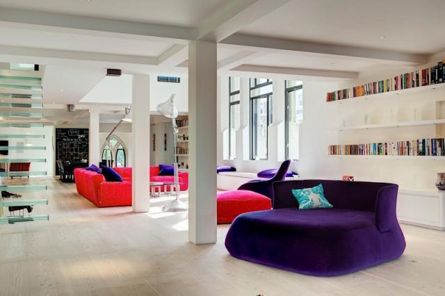 #church conversion #architecture #interiors #colour #arhitektura+ (9)