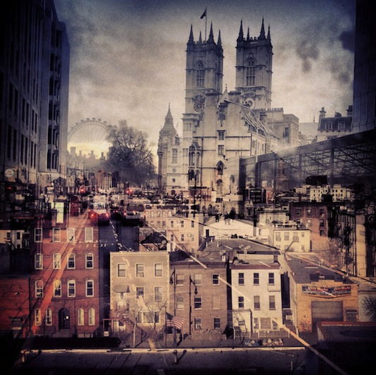 New-York-London-A-Collection-of-Double-Exposures-by-Daniella_Arhitektura+ #art #photography (4)