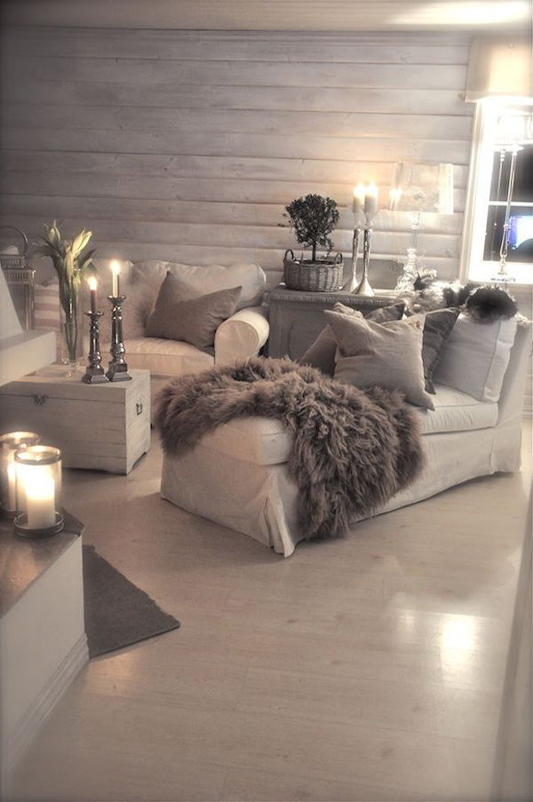 jours #grey #lazy #cozy #winter #interiors #romantic #decor # Arhitektura + (1)